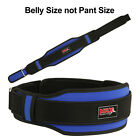 "Weight Lifting Belts Gym Fitness Back Support Training 5"" Wide Belt Multi Colors"