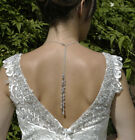 Backdrop Necklace - Black Silver Sparkly Dress - Party - Prom - Wedding