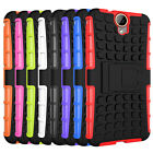 For HTC One E9+ / E9 Plus Case Hybrid Dual Layer Armor Stand Protective Cover