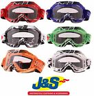 BKS MOTO X GOGGLES OFF ROAD ENDURO ATV QUAD MOTOCROSS YZ RM KTM CR J&S