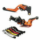 GAP Extendable Folding Brake Clutch levers for Kawasaki Z750S 06-08 EX 500 Ninja