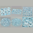 3mm Lot 6,10,20,50,100pcs Round Cut Accent Stone Natural Sky Blue TOPAZ