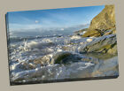 Watergate bay canvas print cornwall newquay framed picture seaside beach