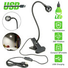 Kyпить USB Flexible Reading LED Light Clip-on Beside Bed Desk Table Lamp Book Lamp New на еВаy.соm