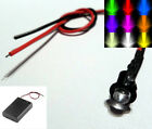 Flashing 3mm/5mm LED With AA/AAA Battery Box & Switch  - Scalextric/Model