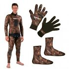 Mares Package Camo Brown 7mm Boots + Gloves 06DE