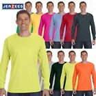 NEW Jerzees Heavy 5.6 oz Dri-Power 50/50 Mens Long Sleeve S-3XL T Shirt M-29L