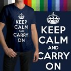 keep calm posters - Keep Calm And Carry On Political British WWII Poster Mens/Unisex V-Neck T-Shirt