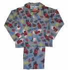 Boys DISNEY CARS Flannel/Winceyette LONG PYJAMA SET - Ages 3-8 (Xmas/Present)