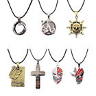 1 Pc Japan Anime Metal Pendant Necklace Unsiex Cosplay Jewelry Rope Chain Cheap