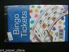 600 Games Bingo Cards Tickets Book Security Coded Colour 100 Pages, 6 per sheet