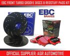 EBC FRONT GD DISCS REDSTUFF PADS 301mm FOR CHEVROLET ASTRO 4.3 2WD 1995-03