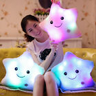 Glowing LED Pillow Light Up Soft Cosy Relax Cushion Kids Toy Gift Star Shaped
