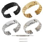 Stainless Steel Watch band with Spring bars For Samsung Galaxy Gear S2 SM-R732