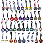 zipper pull pet id luggage bag tag NFL Pick your team on eBay