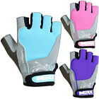 Weight Lifting Gloves Training Gym Women's Fitness Glove Straps Amara Leather