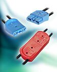 SBS MINI FINGER PROOF CONNECTOR HOUSINGS x 2 + 4 x 15A CONTACTS - AUTO / UAV's