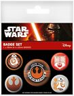 Star Wars Episode VII The Force Awakens Join the Resistance Badge Pack 10x12.5cm