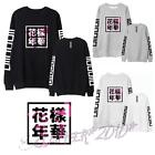 Kpop Bangtan Boys BTS JUNG KOOK JIMIN JHOPE SUGA IN Bloom 2015 SEOUL SWEATER Top