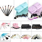 32/12Pcs Professional Cosmetic Makeup Brush Set Soft Eyebrow Shadow MultiColor