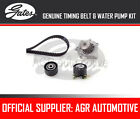 GATES TIMING BELT AND WATER PUMP KIT FOR PEUGEOT 307 CC 2.0 HDI 135 136 2005-