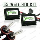 55W HID High Beam Lights Xenon Light Slim Kit Plug N Play Bulb - H9