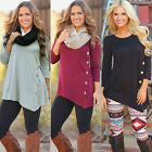 2015 New Fashion Women Long Sleeve Tops Blouse Ladies Loose T shirts Outfit