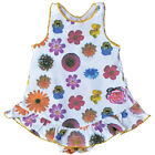 Baby Girls Flower Print Cotton Onesie Dress  Claesen's  6M, 12M $32 NWT