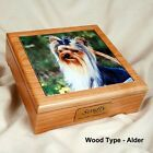 Pet Cremation Urn with a Photo Tile Insert