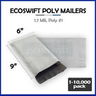 "1-10000 6 x 9 ""EcoSwift"" Poly Mailers Envelopes Plastic Shipping Bags 1.70 MIL"