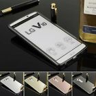 NEW Luxury Aluminum Metal Mirror Case +PC Back Cover For LG V10 F600