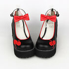 Sweet Lolita tea party badydoll Chinese Knots Bowknots Shoes Custom made 8522-7