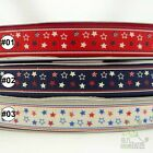 "2Yard 10Yard Cartoon Stars Grosgrain Ribbon Craft Sew 16/25/38mm (5/8""1""1.5"")"