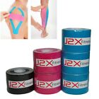 J2X Fitness Kinesiology Muscle Strain Injury Support Tape 5cm x 3m