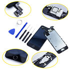 LCD Touch Screen Digitizer Assembly For iPhone 5/5S/5C/6 Plus Camera Home Button