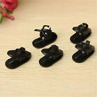 Fine Clips for Headphone Earphone Cable Wire Cord Nip Clamp Holder Mount Collar