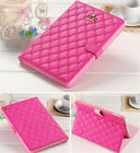 2Luxury Crown Slim Smart Wake Leather Case Cover For iPad Mini Air/Air 2 2/3/4/5