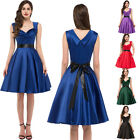 NEW SWING 50's 60'S VINTAGE PROM PIN UP DRESSES PARTY EVENING DRESSES