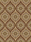 Beige Teardrops Waves Transitional Area Rug Geometric Curves Circles Carpet