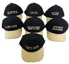 Quality Marine Yachting Crew Boat Cap Hat Sailing Boating Dinghy Peak - New