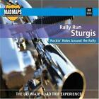 Rally Run: Sturgis Laminated Map for Motorcyclists [Sep 01, 2006] MAD Maps