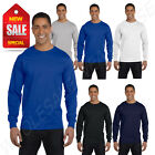 Hanes Men's ComfortSoft Heavyweight 100% Cotton Long Sleeve S-XL T-Shirt R5286