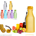 Portable Outdoor Sport Camping Cycling Travel Plastic Fruit Juice Water Bottle