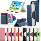 "Flip Card Wallet Stand PU Leather Case Cover For Apple iPhone 6 4.7"" 6 Plus 5.5"""