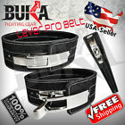 BUKA Weight Power Lifting Leather Lever Pro Belt Gym Training Powerlifting New