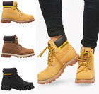 "WOMENS LADIES 6"" CATERPILLAR COLORADO LACE UP ANKLE LEATHER BOOTS SHOES SIZE"