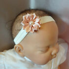 Baby Headband cream with small flower all sizes