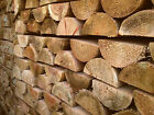 3.6m x 100mm Diameter Treated Wood Machine Cut Half Round Rail Fencing