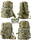 Army Combat Rucksack Military Day Pack Bag Molle Travel Surplus BTP Backpack 40L
