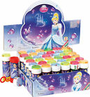 CINDERELLA - BUBBLES (Choose Amount) Girl/Kids Party Bag Filler Loot Toys Disney